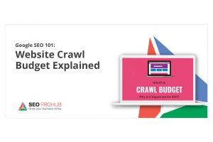 Google SEO 101: Website Crawl Budget Explained